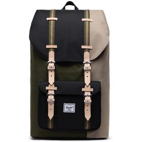 Herschel Little America Plecak, oliwkowy/szary